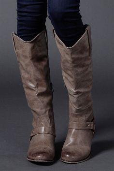 Bistre Tall Boots 49