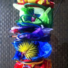 My picture of these colorful gift bags in Mexico City. Mexico puts no limits on the amount or saturation of color!