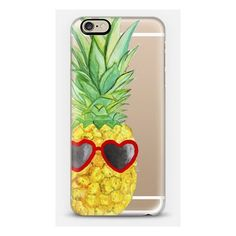 Pineapple - iPhone 6s Case,iPhone 6 Case,iPhone 6s Plus Case,iPhone 6... (€36) ❤ liked on Polyvore featuring accessories, tech accessories, phone cases, phones and pineapple