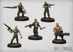 Bildresultat för catachan jungle fighters army
