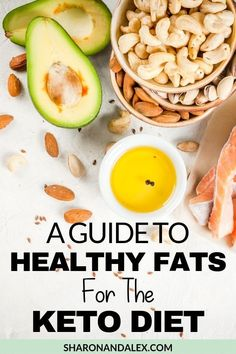 Healthy fat is the cornerstone of the keto diet. This post shows you how to tell the difference between healthy fats and bad diets for keto. Best Keto Diet, Lchf Diet, Good And Bad Fats, Healthy Fats, Healthy Eating, Clean Eating, Full Fat Yogurt, Keto Recipes, Healthy Recipes