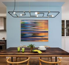 A Crown Heights Brownstone in Brooklyn by BFDO Architects - Design Milk Brooklyn Brownstone, Teal Accent Walls, Blue Walls, Jardin Luxuriant, Blue Gray Paint, Wood Facade, Yellow Tile, Walnut Floors, Crown Heights