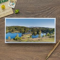 Single Blank Card by landscape photographer Nina K Claridge – Tarn Hows