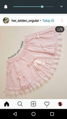 Çok güzel Baby Knitting Patterns, Baby Girl Patterns, Knitting For Kids, Lace Knitting, Knitted Baby Cardigan, Baby Pullover, Knitted Hats, Filet Crochet, Crochet Lace