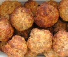Rezept Party - Frikadellen aus dem Backofen von sauerampferstängelchen - Rezept der Kategorie Hauptgerichte mit Fleisch