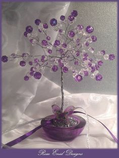 Wire Tree 009 - Grape Tree 2