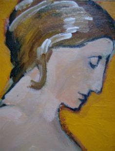 Portrait Paintings, Portraits, Watercolor Bird, Small Art, Love Art, Contemporary Art, Doodles, Sketch, Faces