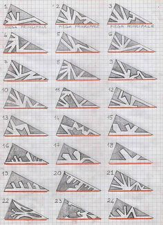 Diy Crafts Ideas : DIY: Models for paper snowflakes