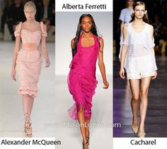 Spring/ Summer 2012 Fashion Trend #11: Cold shoulders.