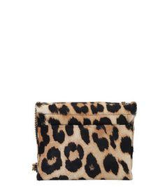 ShopBazaar Lanvin Leopard Mini Chain Bag FRONT