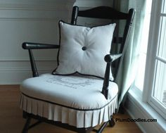 Rocking Chair Makeover | Plum Doodles