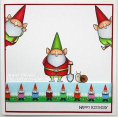 Tea, Cake and Crafting: Cheery gnomes!