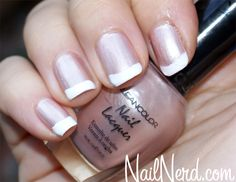 Sweetly Pink French Nails