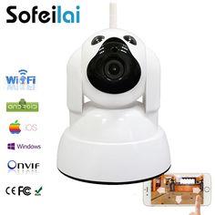 720P HD WIFI IP camera wireless infrared pan tilt onvif sd card home security CCTV camara mini motion alarm p2p yoosee cameras
