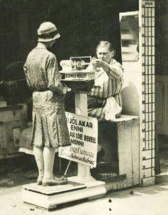 1920 körül Városligetben.