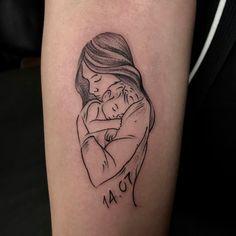 Mommy Tattoos, Ems Tattoos, Mini Tattoos, Foot Tattoos, Forearm Tattoos, Body Art Tattoos, Small Tattoos, Baby Tattoo For Dads, Tattoos For Baby Boy