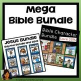Bible Lessons Bundle! This bundle includes the lessons and stories of Adam and Eve, Elijah, David, Abraham, Cain and Able, The Nativity Story, and the Easter Story! There are games and Bible Lesson activities great for home school, Sunday School, or private school! Buy the Bundle and save 20%!Pleas...