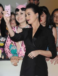 Katy Perry Met Her Identical Twin Last Night  - ELLE.com