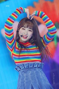 Nakojang sending love of rainbows to wizones 🍭 - - - ✰ᴛᴀɢs✰ kpop kpopmultifandom lfl kpoplfl kpopfff kpopsfs kpopexlikes izone wonyoung sakura yuri yena yuri nako eunbi hyewon hitomi chaewon minju chaeyeon