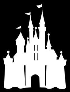 Cinderella Castle Silhouette | Double click on above image to view full picture
