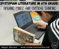 Dystopian Literature in 6th Grade: Opening Minds and Critical Thinking Writing Resources, Writing Skills, Political Problems, 6th Grade Reading, Vocabulary Practice, Middle School Teachers, Read Aloud, Critical Thinking, English Language