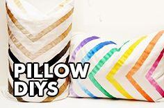 Pillow DIYs