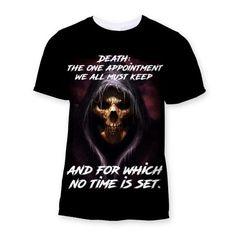 Death - Ltd. Edition Sublimation T-Shirt - We Love Skull