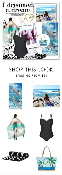 """Cover up"" by spolyvore1 ❤ liked on Polyvore featuring Kate Spade, beachwear and cover"