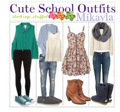 Outfits for all seasons school