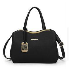 144f01dc5a00 High Quality Pu Leather Handbag Women Bag 2016 New Fashion Tote Bag  Designer Handbags Ladies Hand Bags Black Women Shoulder Bags
