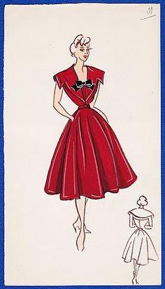Red amazing dress