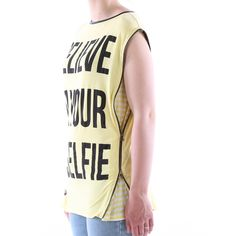 T-shirt Eks smanicata zip laterali donna - € 29,90 | Nico.it - #fashionista #nicoit #nicoabbigliamentocalzature #fashion #nuoviarrivi #newarrivals #newcollection #nuovacollezione #bestoftheday #outfit #outfitoftheday #spring #springsummer #summer #ss15 #2015