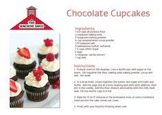 Chocolate Cupcakes - Machine Shed www.machineshed.com