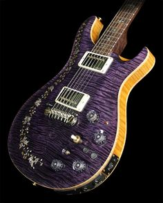 2012 Paul Reed Smith Private Stock Custom 22 Semi-Hollowbody in Transparent Purple
