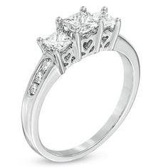1000+ ideas about Princess Cut Diamonds on Pinterest | Princess ...