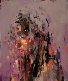 Kai Samuels-Davis I The Question II, 2016 I Oil on panel I 36 x 30 inches A Level Art Sketchbook, Shadow Art, Funky Art, Abstract Portrait, Art Portfolio, Painting Inspiration, Art Inspo, Figure Painting, Aesthetic Art