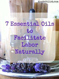 7 Essential Oils to Facilitate Labor Naturally - The Dabblist