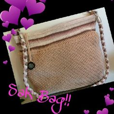 "Perfect Sak crochet Bag perfect condition inside and out, tan Sak Bag with roped strap that can be carried as a handbag at 11"" or crossbody at 22"". 11"" wide and 12"" tall (deep) has zip pocket inside and 2 open pockets! Sak Bags Crossbody Bags"