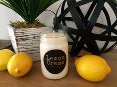 Lemon Creme Candle Recipe