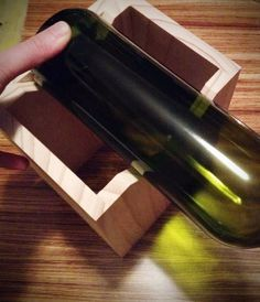How to: Make a DIY Glass Bottle Cutting Jig
