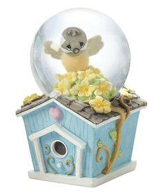 Love this Chickadee Snow Globe on #zulily! #zulilyfinds