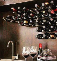 Wine Shipping Boxes Near Me Refferal: 9600471644 Restaurant Design, Restaurant Bar, Bathroom Cabinetry, Small Bars, Wine Wall, Building Companies, Custom Kitchens, Wine Storage, Wine Cellar