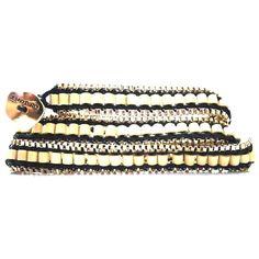 ブレスレット JENNY BIRD ジェニーバード カナダ ラップブレスレット レディース ゴールド メッキ ナチュラル gypset triple bracelet black ジプセット 巻き付け 連 ぶれすれっと あくせさりー ラップブレス お洒落 海外 ブランド