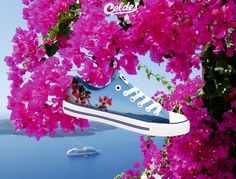 Casual high quality canvas shoes with famous destinations from around the world. Bougainvillea, Summer Feeling, Greek Islands, Greece, Shoes, Greek Isles, Zapatos, Shoes Outlet, Shoe