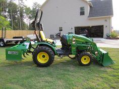 John Deere Compact Utility Tractors | John Deere 2320 Compact Utility Tractor with attachments