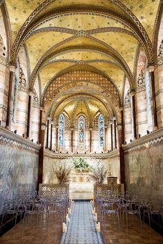 Top Ten unique London wedding venues Fitzrovia Chapel a hidden gem in London perfect for your intimate wedding ceremony