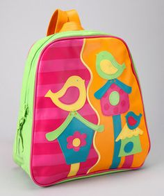zulily | Daily deals for moms, babies and kids. Stephen Joseph bird go go backpack