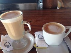 Latte & Cappucino for this morning..