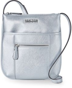 2ae9d6ef7c Kenneth Cole Reaction Silver Pam Mini Crossbody Bolsas
