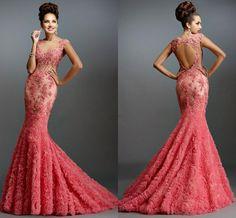 Corral Mermaid Prom Dresses